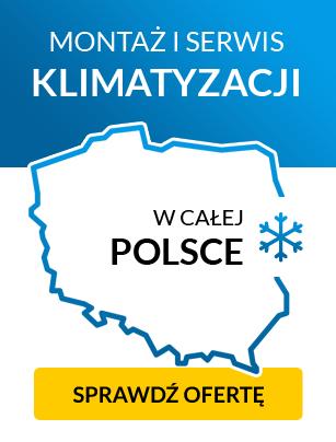 Montaż i serwis klimatyzacji w całej Polsce