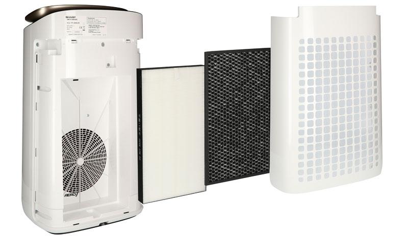 Filtracja w Sharp FP-J80EU-W