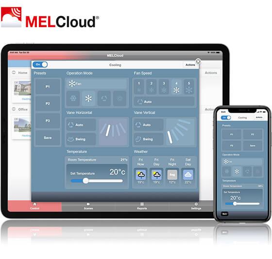System MELCloud w klimatyzatorach Mitsubishi