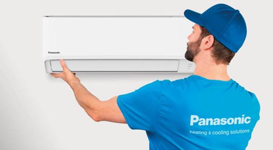 Łatwy montaż klimatyzatora Panasonic