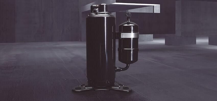 Sprężarka rotacyjna R2 w klimatyzatorach Panasonic