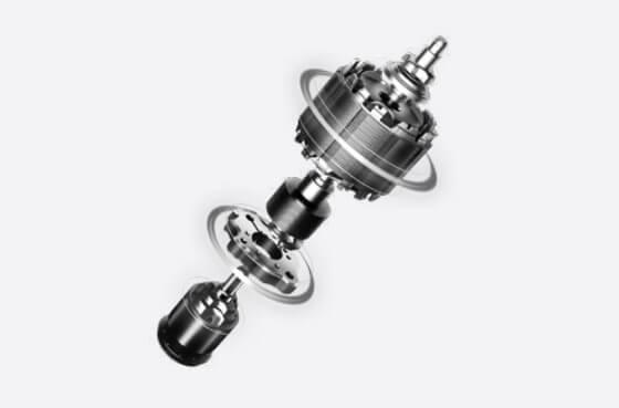 Sprężarka rotacyjna w klimatyzatorze Rotenso Versu Mirror