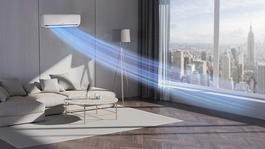 Fast Cooling w Samsung AR35 5,3 kW