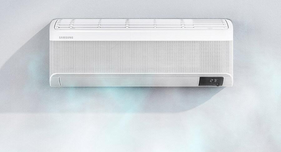 Chłodzenie Samsung Wind-Free™ AVANT 6,5 kW bez nieprzyjemnych podmuchów