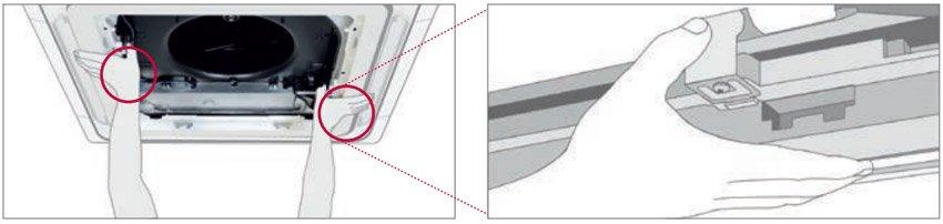 LG Standard Inverter zatrzaski